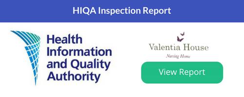 Valentia House Nursing HomeLatest Report
