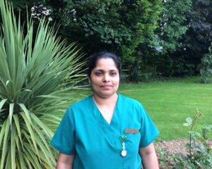 Assistant Director of Nursing, Aji Jacob